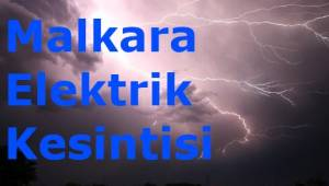 Tekirdağ Malkara Son Dakika Elektrik Kesintileri Kasım Uyarısı