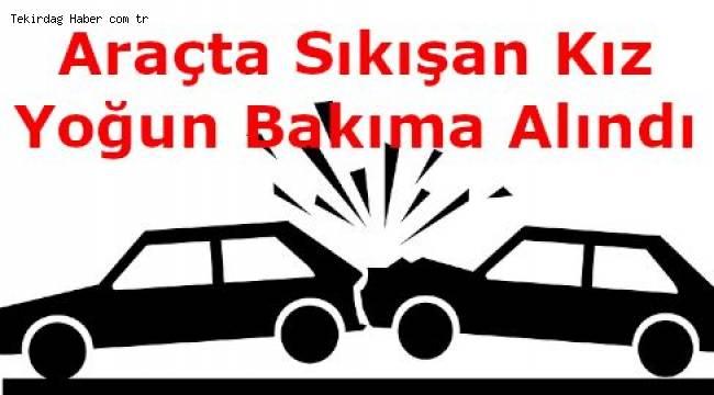 Tekirdağ Şarköy'de Gece Yarısı Trafik Kazası! 2 Kişi Yaralandı