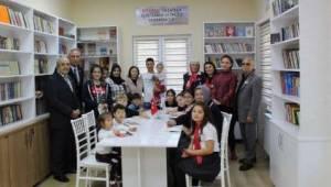 Ergene Atatürk Gönüllüleri Zübeyde Hanım Kütüphanesi Her Yaşa Hitap Ediyor