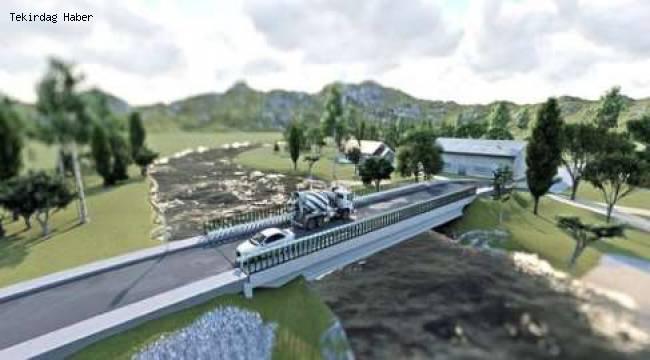 Saray Modern Köprüsüne Kavuşuyor! Tekirdağ Büyükşehir Belediyesinden Son Yatırım Detayları