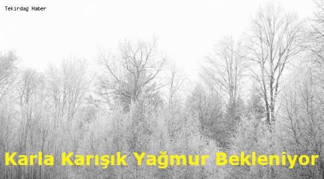 Tekirdağ En Son Hava Durumu Kar Uyarısı Gündemi!