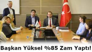 AK Parti Belediyesinden Süleymanpaşa Belediye Emekçilerine Büyük Destek