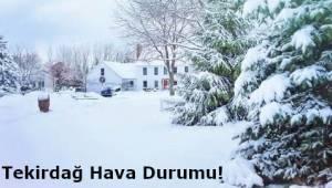 Tekirdağ Anlık Hava Durumu Saatlik ve 5 Günlük Hava Tahminleri