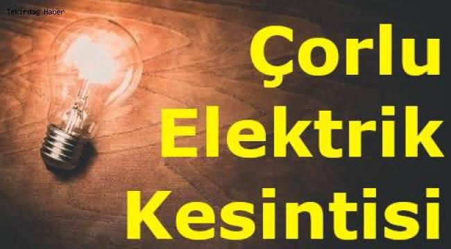 Tekirdağ En Son Dakika Elektrik Kesintisi Duyurusu 2020 TREDAŞ