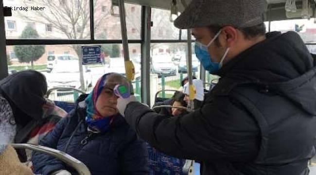 Tekirdağ Büyükşehir Belediyesi COVİD 19'a Karşı Çalışmalarını Sürdürüyor
