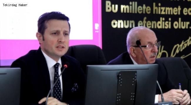 Tekirdağ Büyükşehir ve Çerkezköy Belediyelerinden Proje Değerlendirme Toplantısı