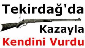 Tekirdağ'da Bir Genç Kazayla Kendisini Pompalı Tüfekle Vurdu! Tekirdağ Gündemi