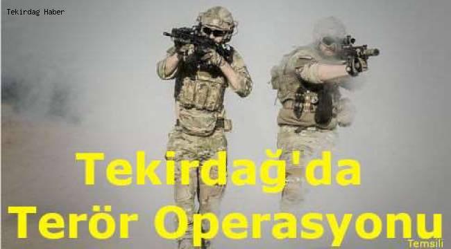 Tekirdağ'da Terör Operasyonu Yapıldı! Polis Bir Şüpheliyi Gözaltına Aldı!