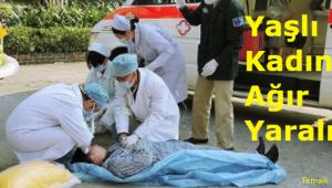 Tekirdağ'da Yaşlı Kadın İkinci Kattan Düştü! Yaşlı Kadın Ağır Yaralı
