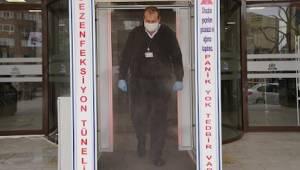Tekirdağ Çorlu Belediyesi Girişine Dezenfeksiyon Tüneli Kuruldu - Çorlu Haber