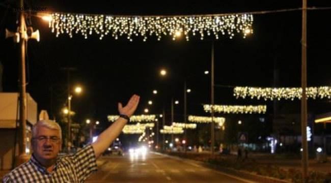 Tekirdağ Ergene Edirne Caddesinde Görsel Şölen!