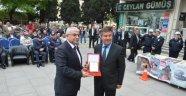 3 Yıldır Trafik Cezası Almayan Örnek Şoföre Trafik Haftası'nda Ödül