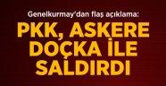Doçka ile Saldıran PKK'lılara Obüslerle Karşılık Verildi
