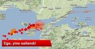 Ege Denizi'nde 2 Deprem Daha Meydana Geldi