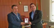 Malkara Başsavcısı Can Tuncay'dan Plaket Jesti