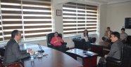 Satranç Şampiyonu'ndan Kaymakam'a Ziyaret