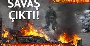 Ukrayna'da savaş çıktı