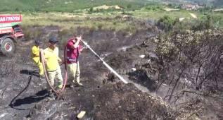 Çengel Köy'deki Yangın Kontrol Altına Alındı