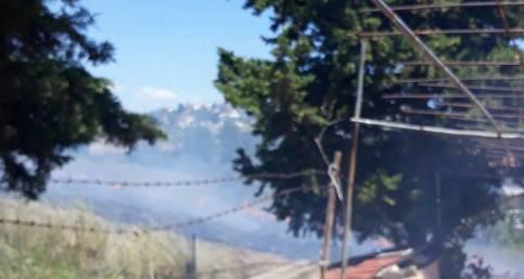 Şarköy Aşağı Kalamış'ta Yangın