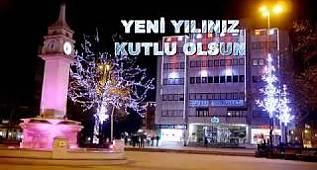 Çorlu Belediyesi 2018 Yeni Yıl Kutlama Mesajı