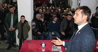 Çerkezköy CHP Belediye Başkan Adayı Vahap Akay'ın Konuşması - Tekirdağ Haber