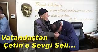 Kapaklı Belediye Başkanı Mustafa Çetin Göreve Başladı