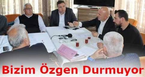 Saray Belediye Başkanı Bizim Özgen'in Saray Belediyesi Meclis Üyeleriyle 2. Toplantısı